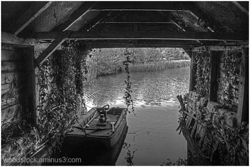 The Boathouse at Buscot Park Oxfordshire