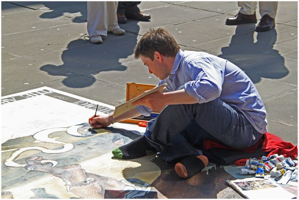 Pavement Artist - London 1 of 2