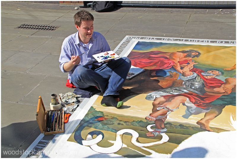 Pavement Artist  - London 2 of 2