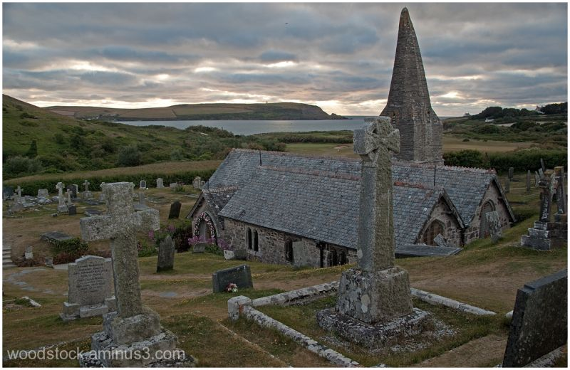 St Enodochs Church Daymer Bay Cornwall