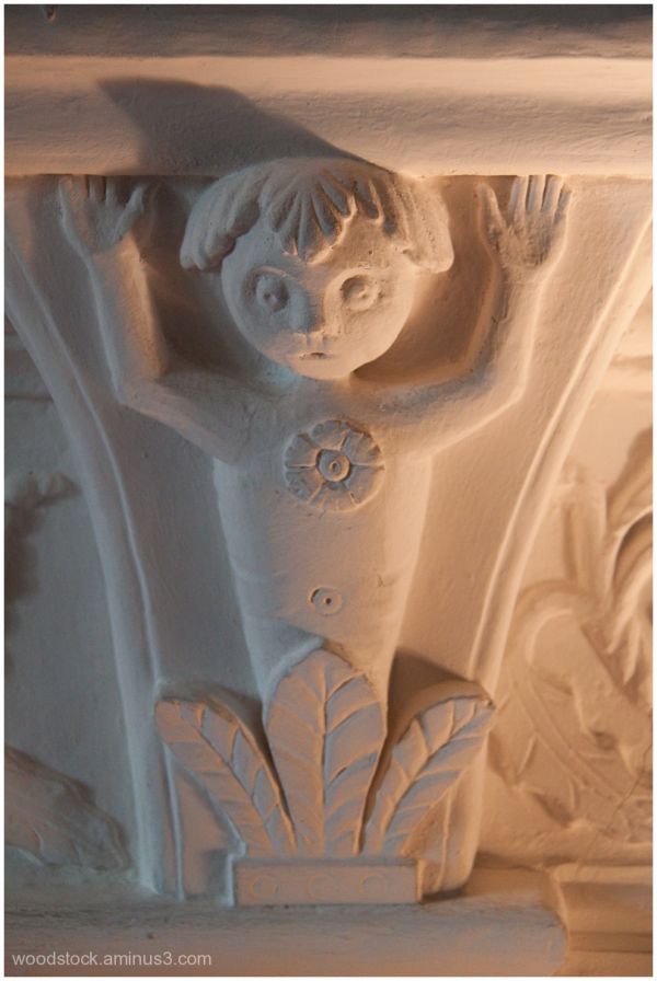 Detail from a 15th Century Fireplace