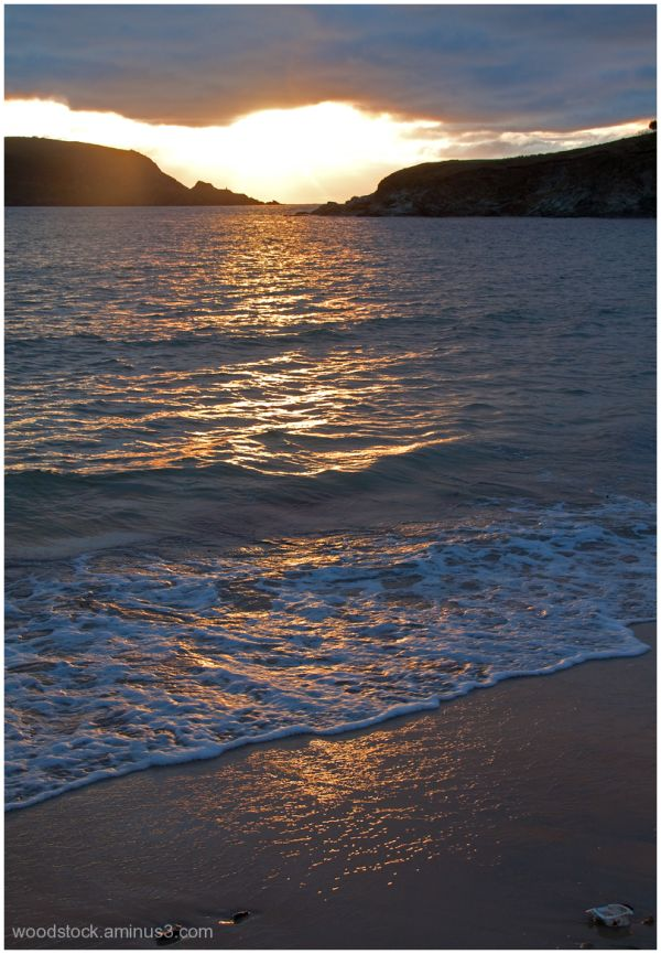 Sunset  - Daymer Bay Cornwall