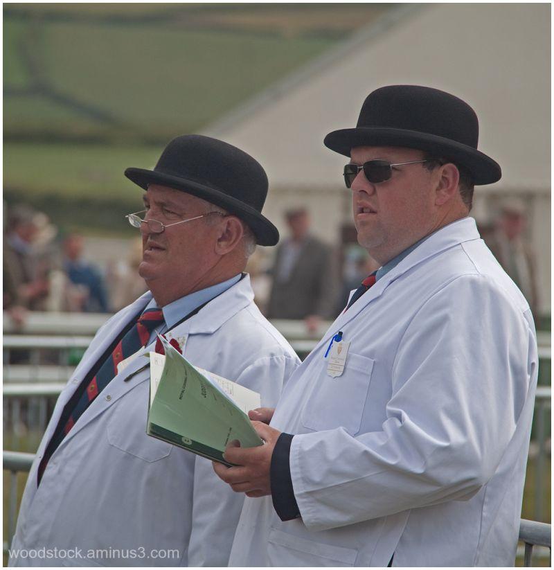 Judges at The Royal Cornwall Show