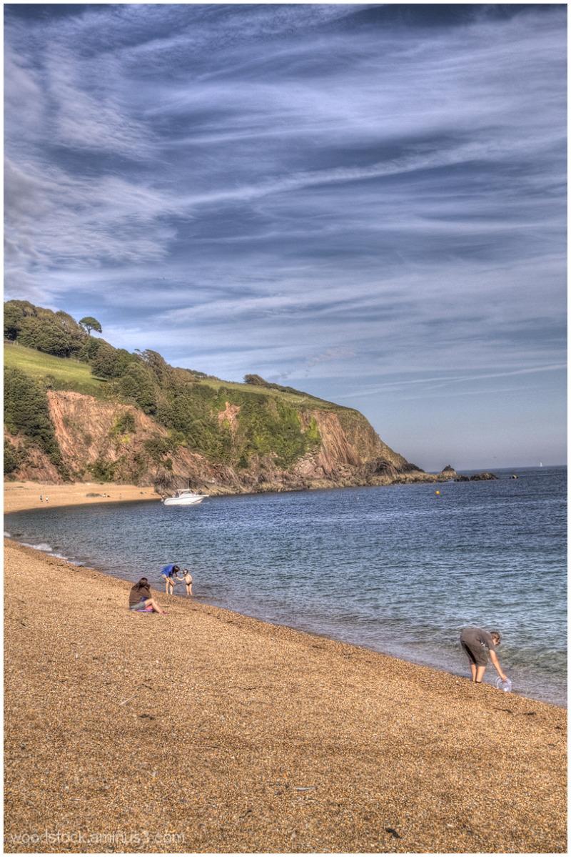 Blackpool Beach in Devon
