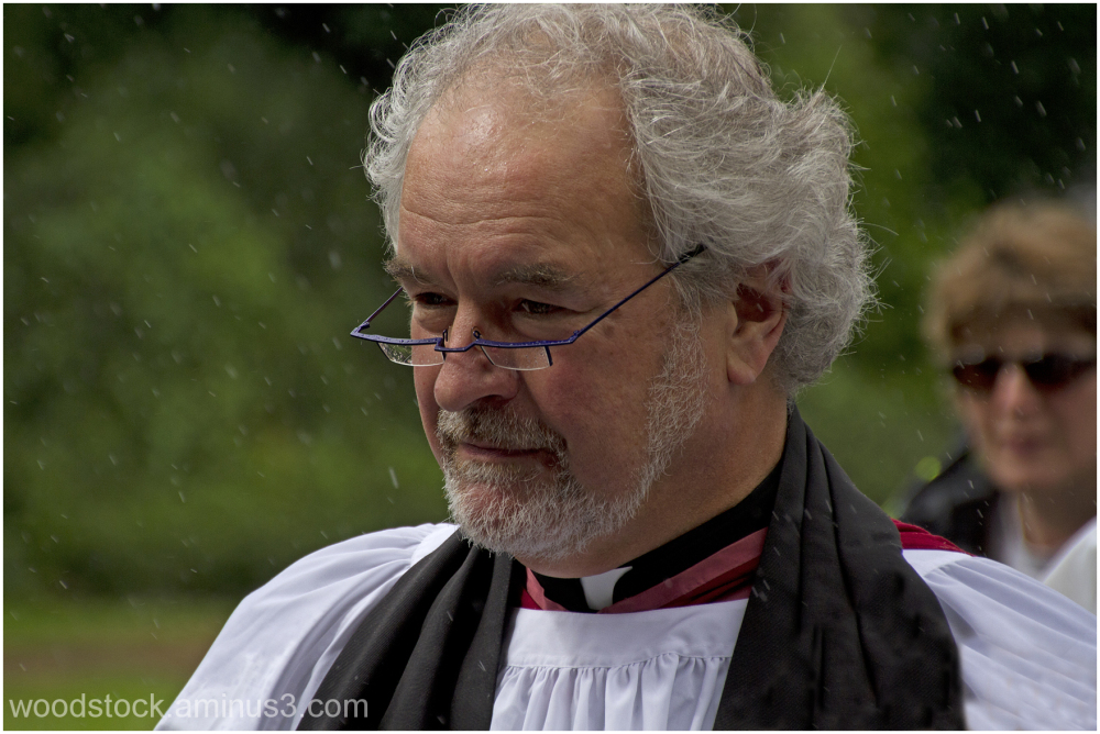 The Vicar In The Rain