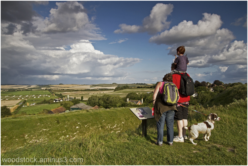 Wiltshire from Old Sarum