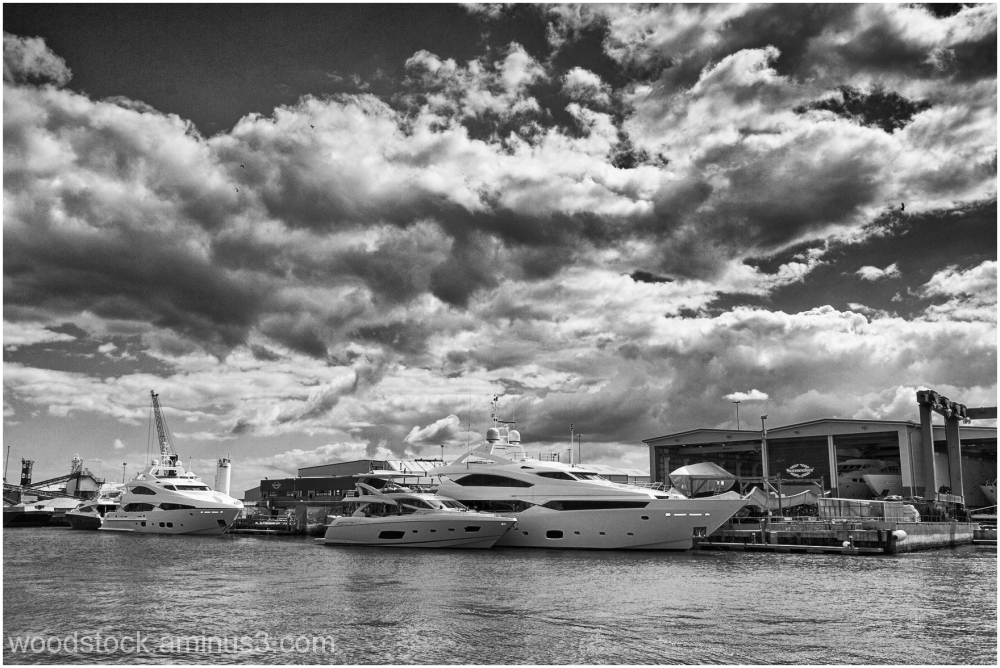 Sunseeker Boatyard Poole Dorset