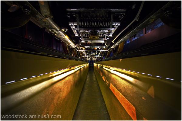 Under A Steam Train