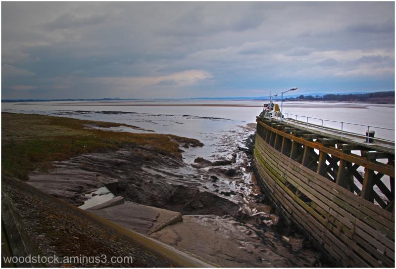 Sharpness Docks  towards The River Severn