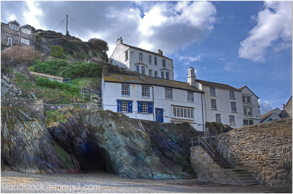 Polperro On The Rocks