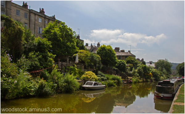 The Canal at Bath