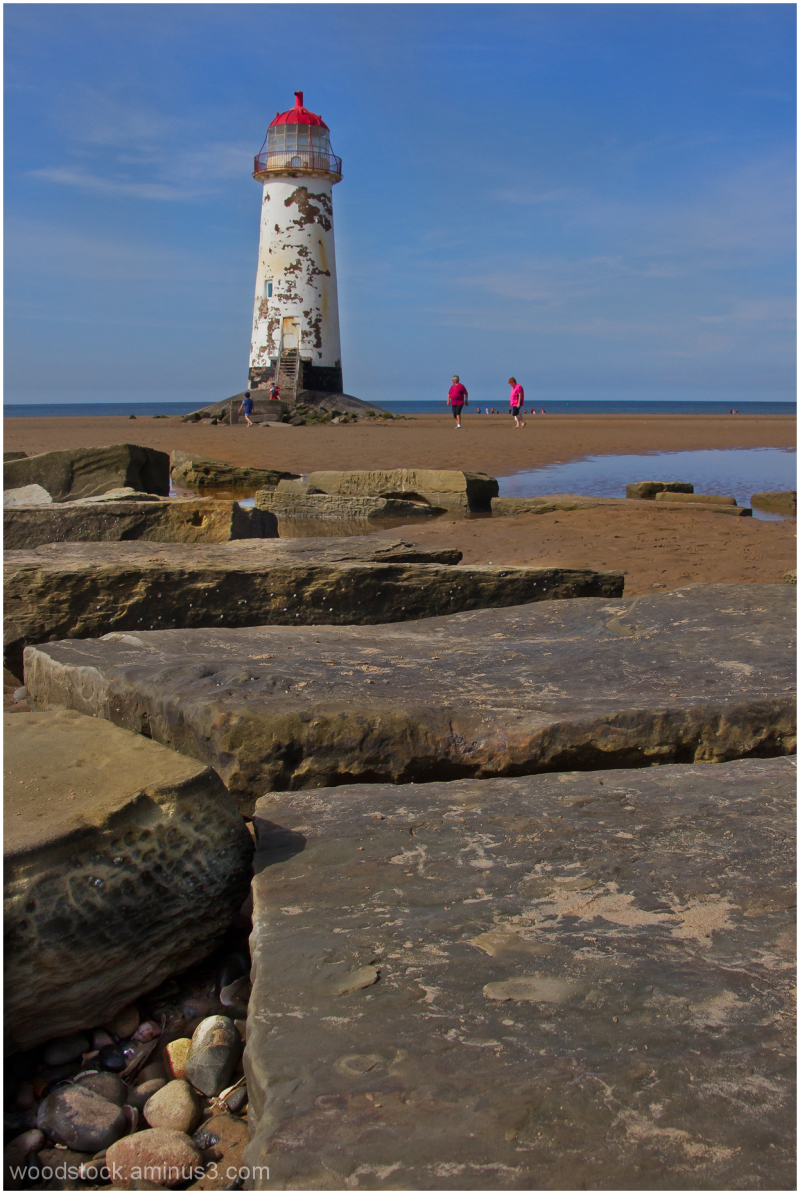 Talacre Lighthouse, Point Of Ayr, North Wales