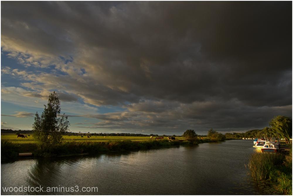 River Avon at Bredon
