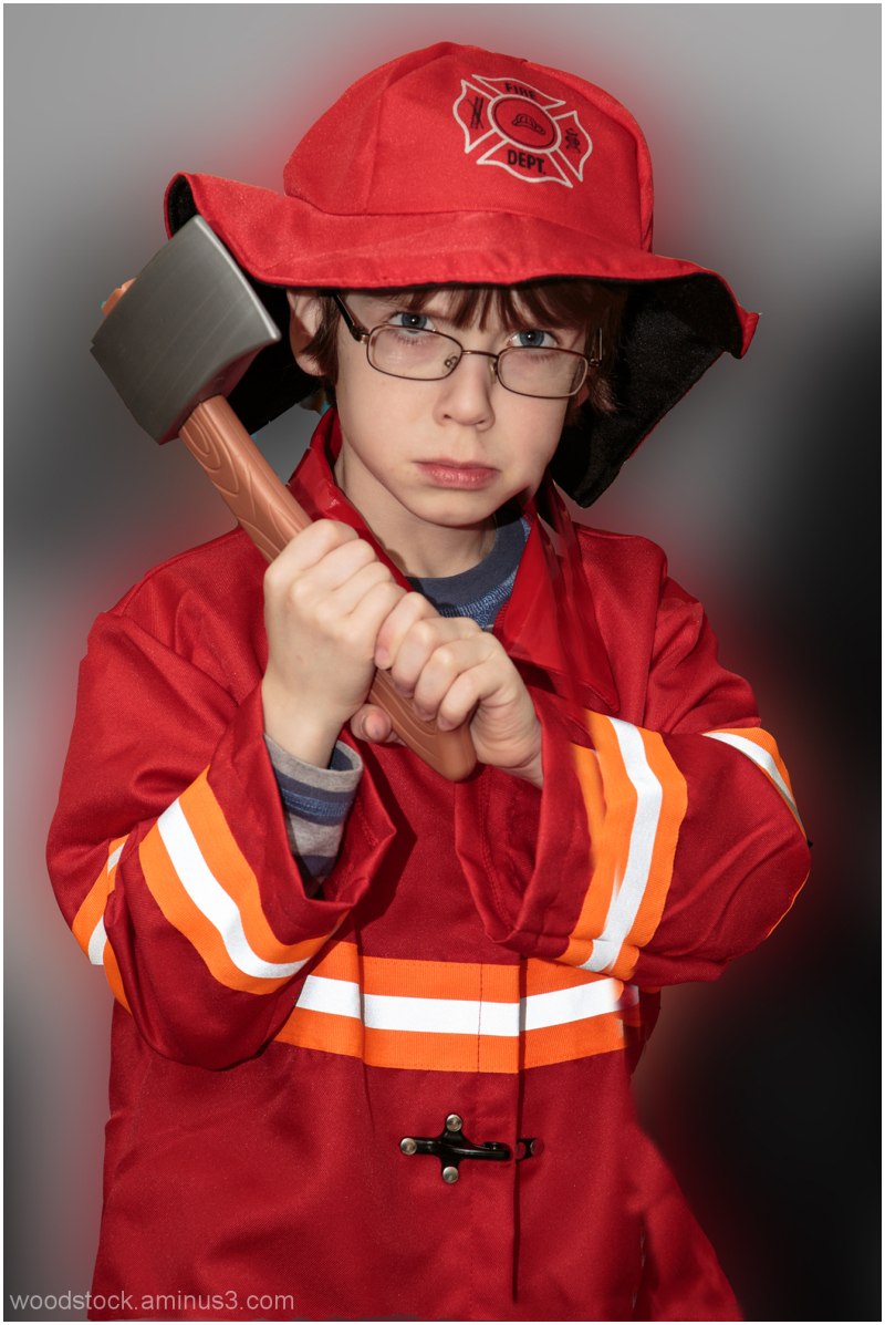 Firefighting is a serious business