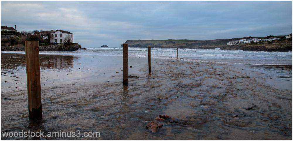 Polzeath Beach Cornwall