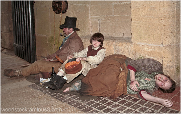 Living History Group - Victorian Family.