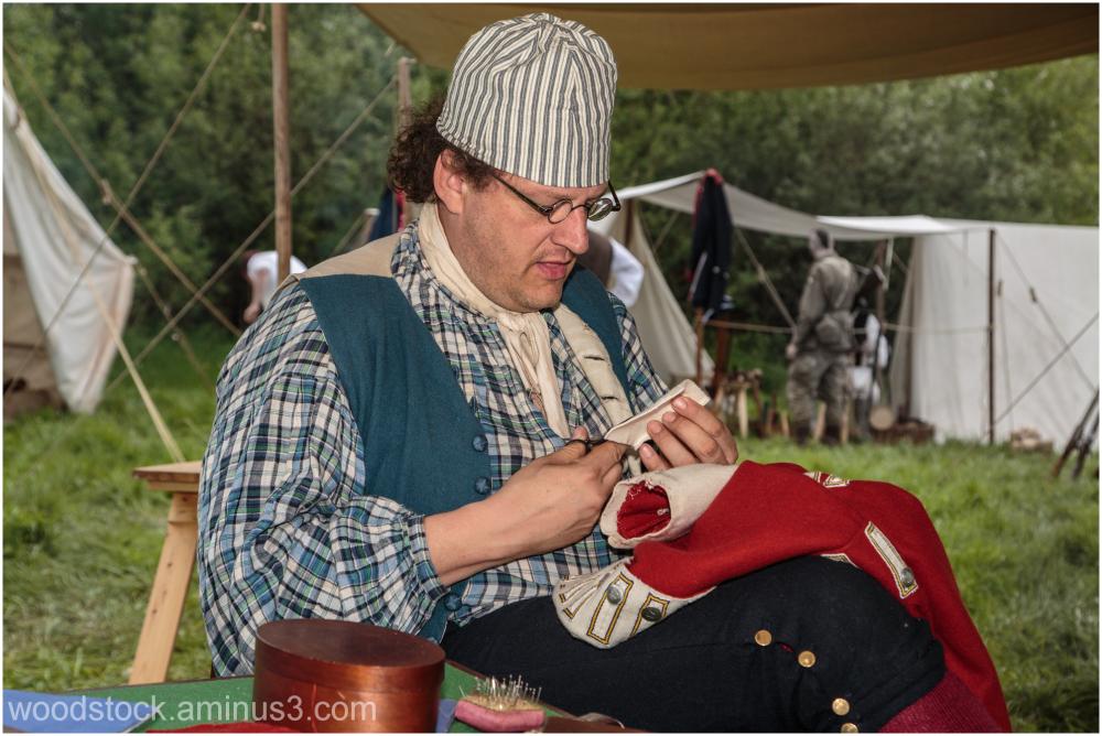 Re-enactment at Caldicot