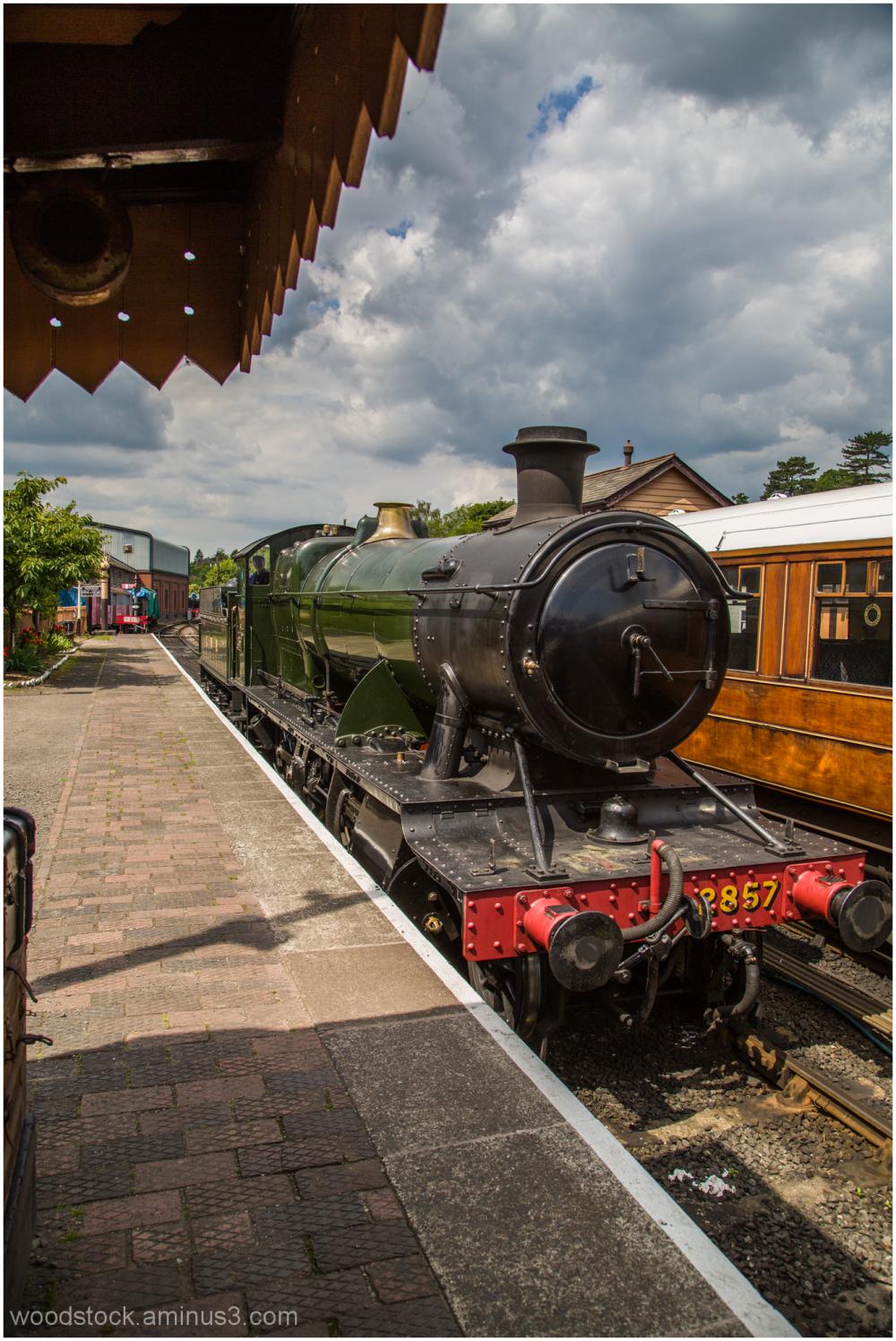 The Train Arriving at Platform 1
