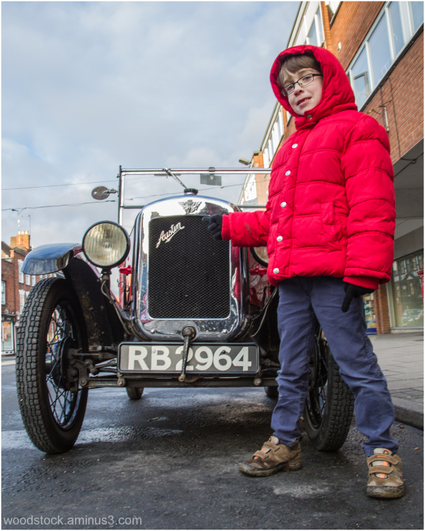 Charlie and the Austin 7