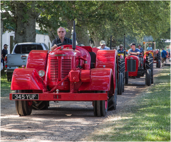 Tractor Parade - Hampshire Show.