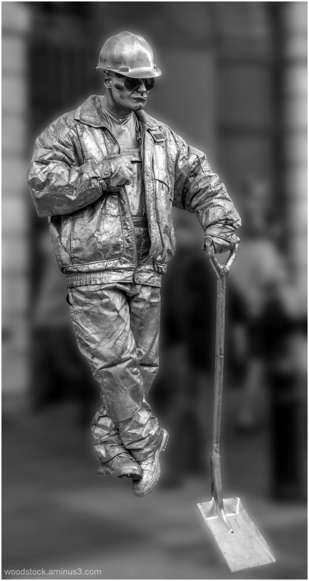 Covent Garden - Human Statue