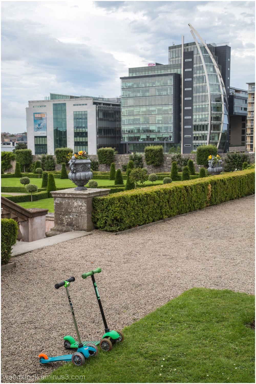 Formal Garden Royal Hospital Kilmainham Dublin