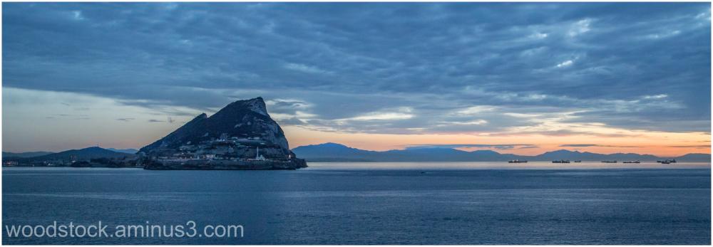 Gibraltar At Dawn