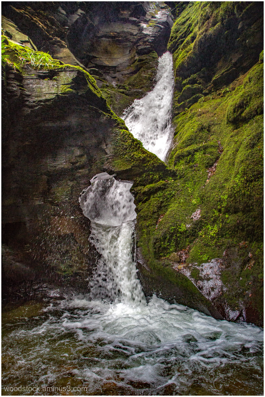 St Nectans Falls