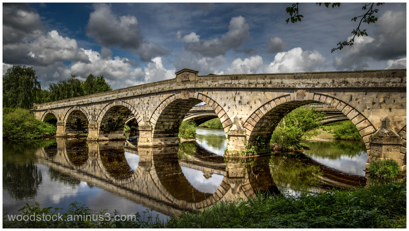 The Bridge At Atcham Nr Shrewsbury