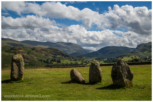 The Lake District from Castlerigg
