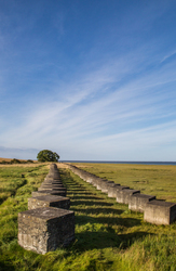 WW11 defences Lindisfarne