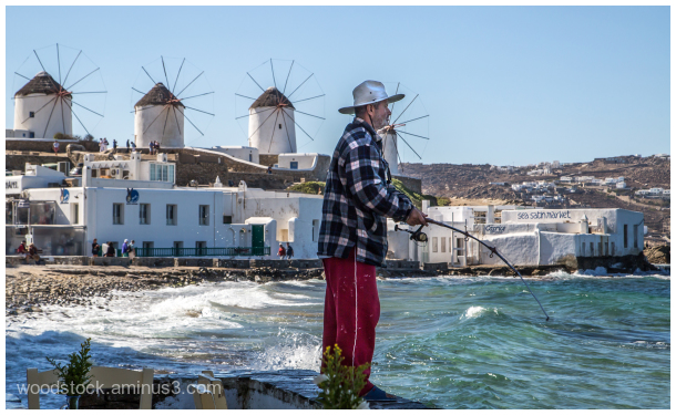 Fishing on Mykanos