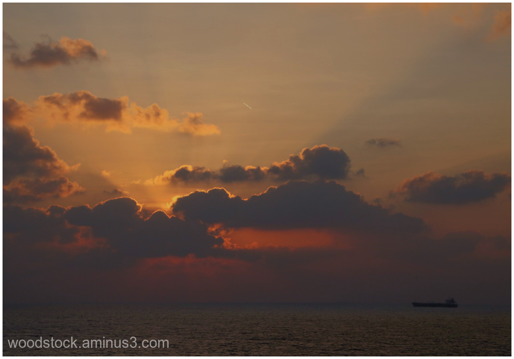 Sunset on The South China Sea