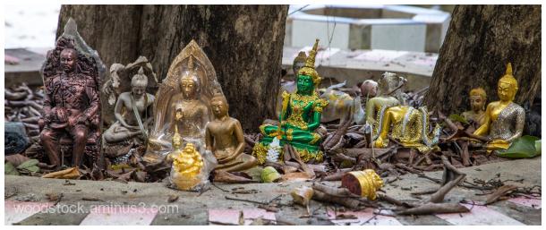 Viet Namese Shrine