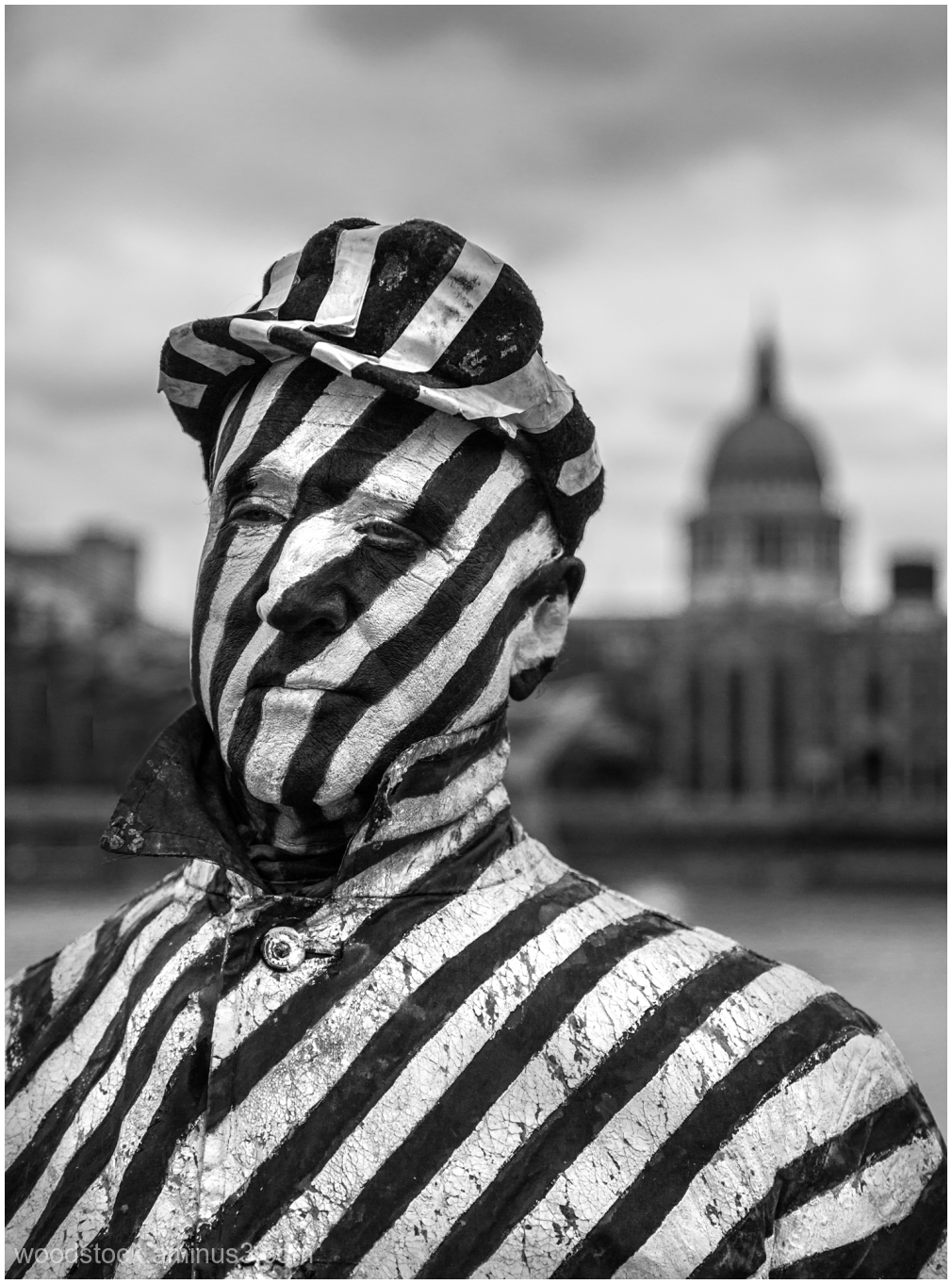 Zebra Man @ St. Paul's