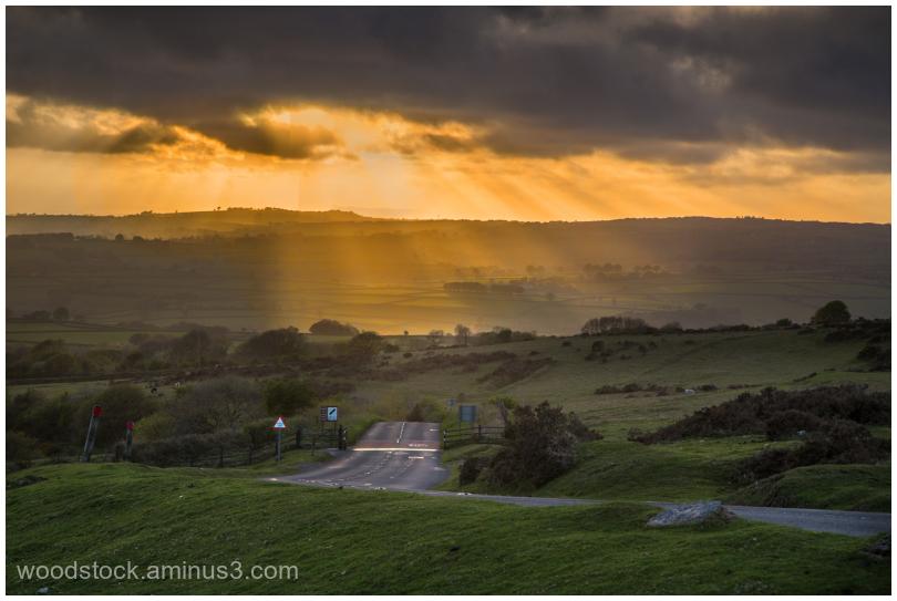 Towards Tavistock From Dartmoor