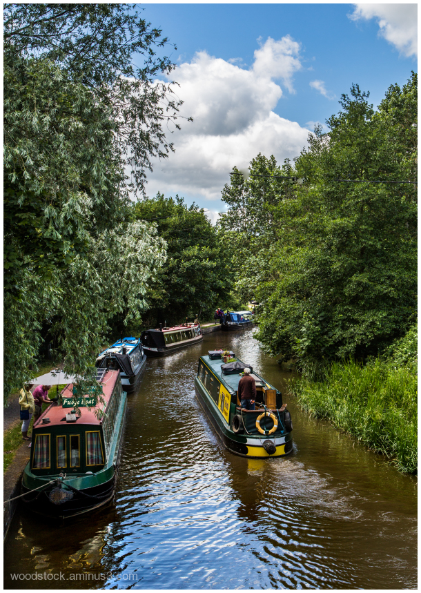 Trent and Mersey Canal at Anderton Lift