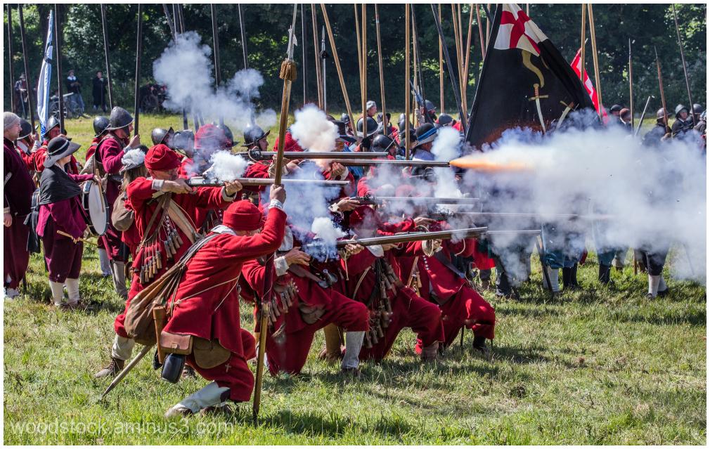 Re-enactment Battle of Newbury