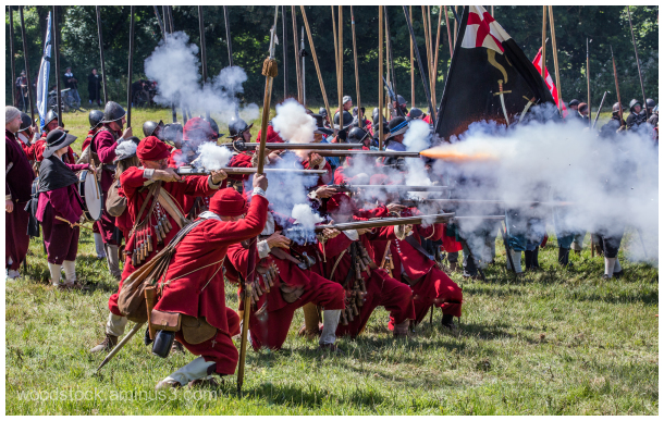 Re-enactment Battle of Newbury
