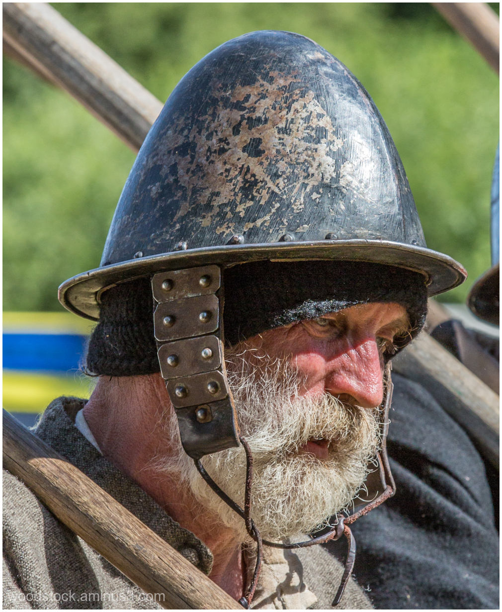 Soldier at The Battle Of Newbury