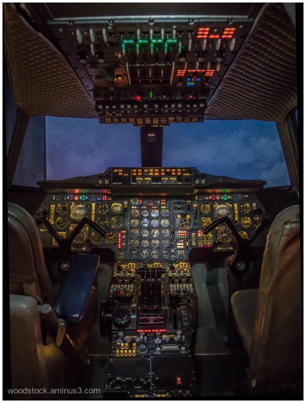 Concorde's Flight Deck