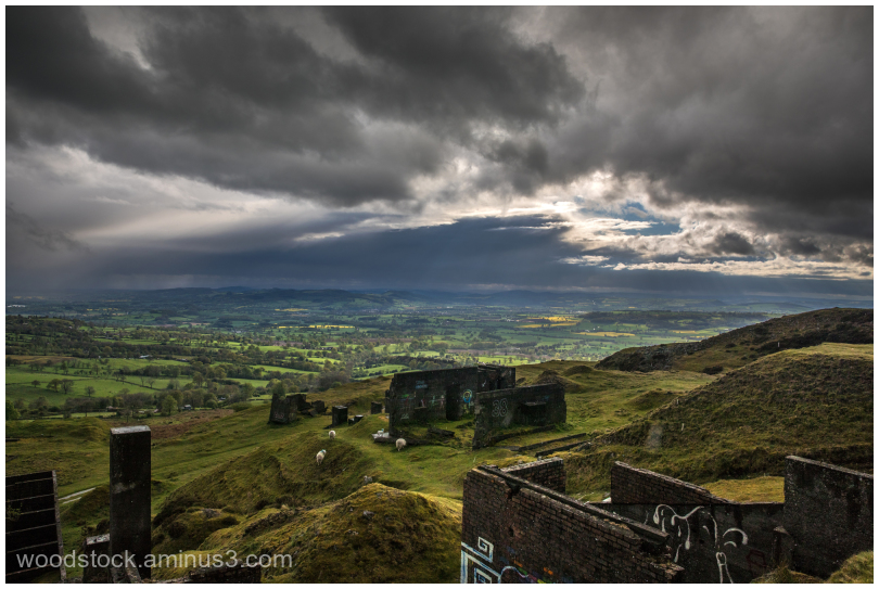 View From Clee Hill, Shropshire