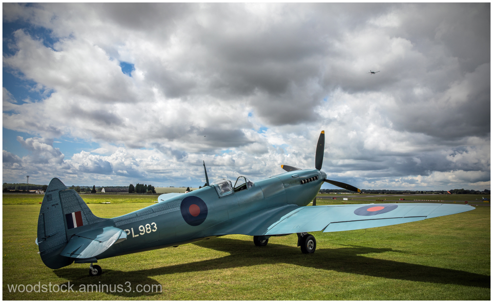 Spitfire at Kemble 2