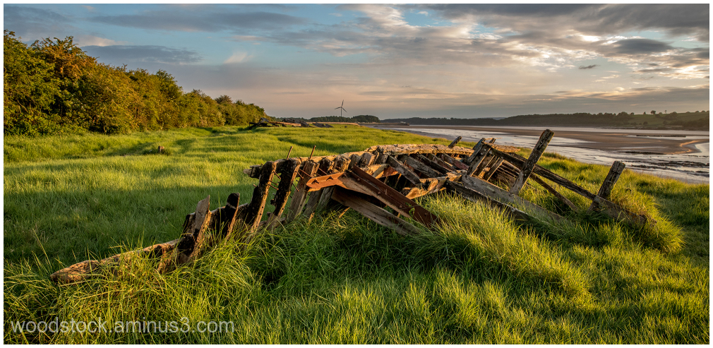 Barge at Purton
