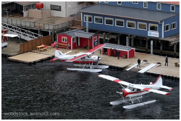 Plane Station in Alaska