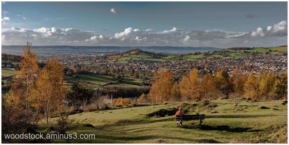 Rodborough Common Towards The Severn