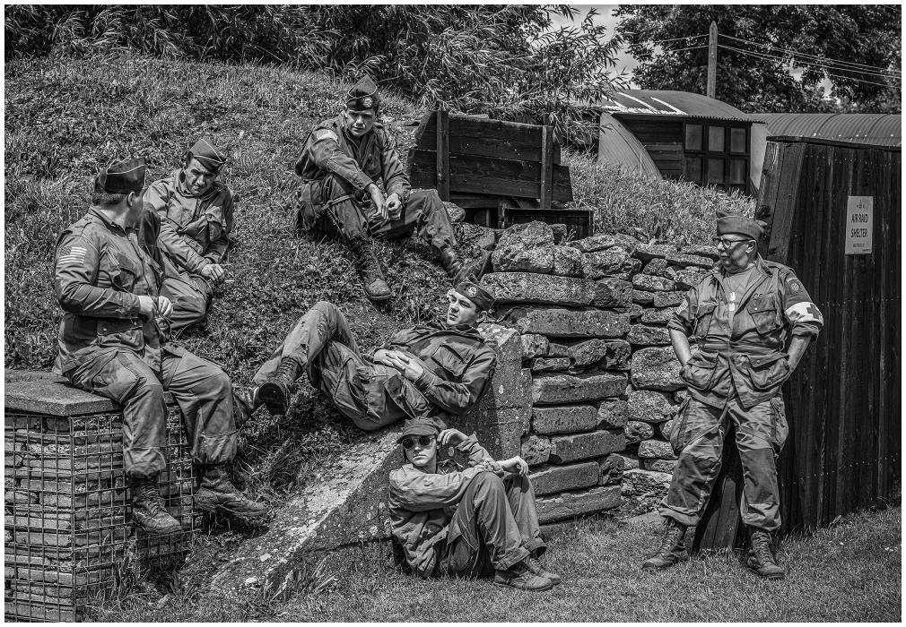 WW11 Re-Enactors