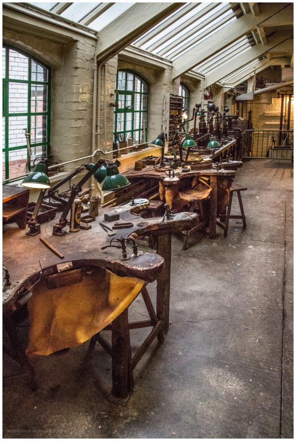 Workshop in Birmingham's Jewellery Quarter