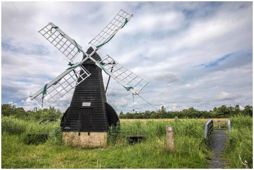 The last wind pump in Suffolk