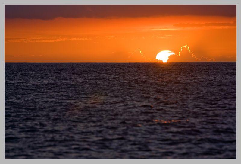 sunset kona